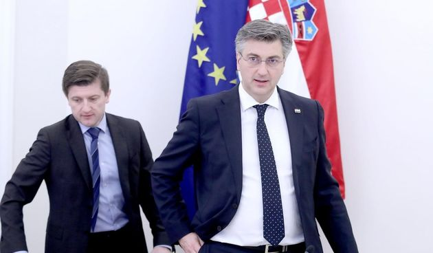 Plenković i Marić