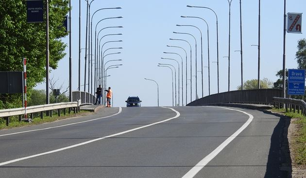 HAK 'Radovi na varaždinskom mostu izvodit će se do sredine lipnja'