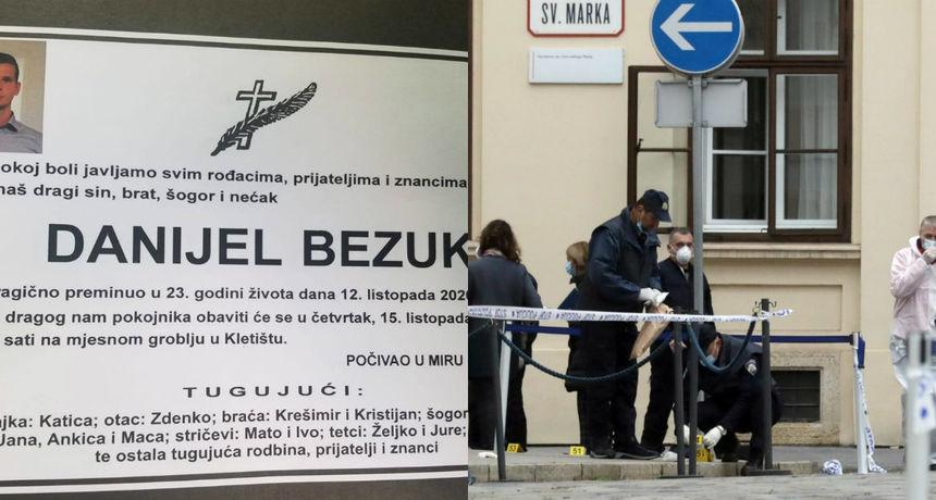 Sahranjen mladić koji je pucao na zgradu Vladu. Stric za RTL.hr: 'Ne vjerujem da se sam ubio. Skinuli su ga snajperom'