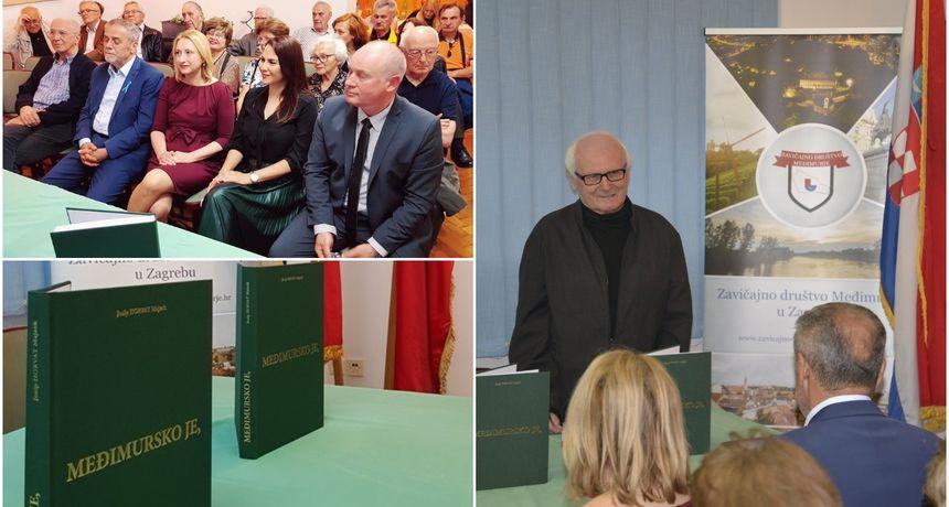 ZAVIČAJNO DRUŠTVO MEĐIMURJE U Zagrebu održana promocija knjige 'Međimursko je' Josipa Horvata Majzeka