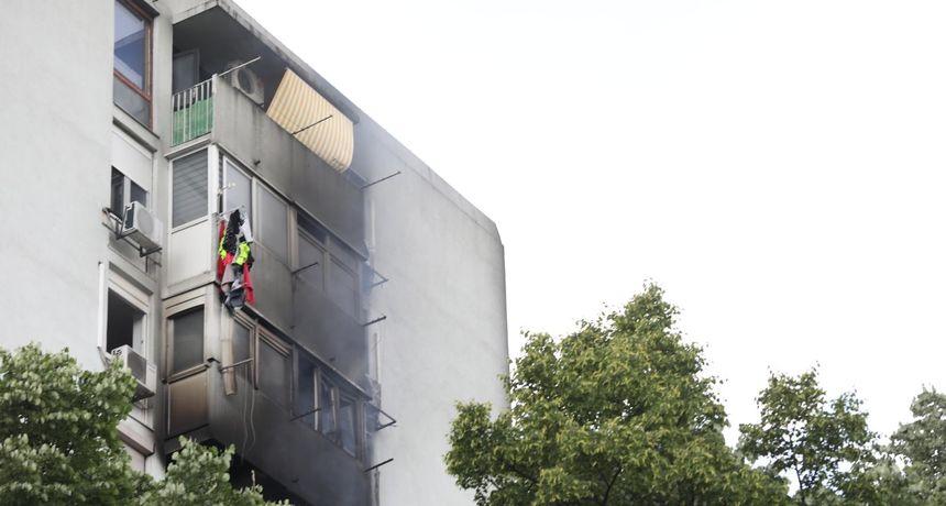 Policija objavila detalje velikog požara u Novom Zagrebu: Još ne znaju gdje je vatra buknula!