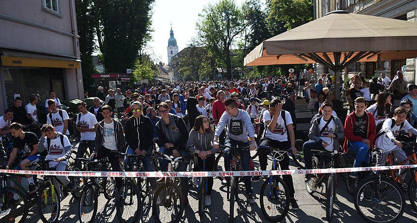 Prvomajska biciklijada - Karlovac, 1. svibanj 2017.