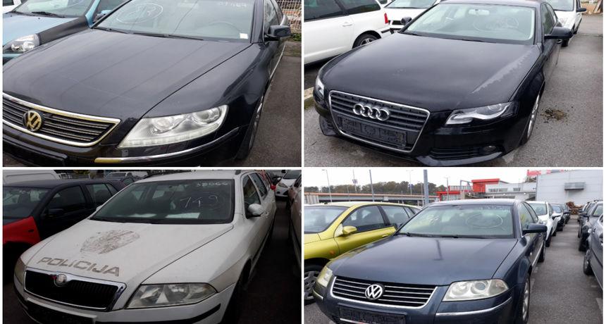 Želite kupiti auto od Sabora, policije ili ministarstva za 'siću'? Audi A4 za 1500, a Passat za 3000 eura