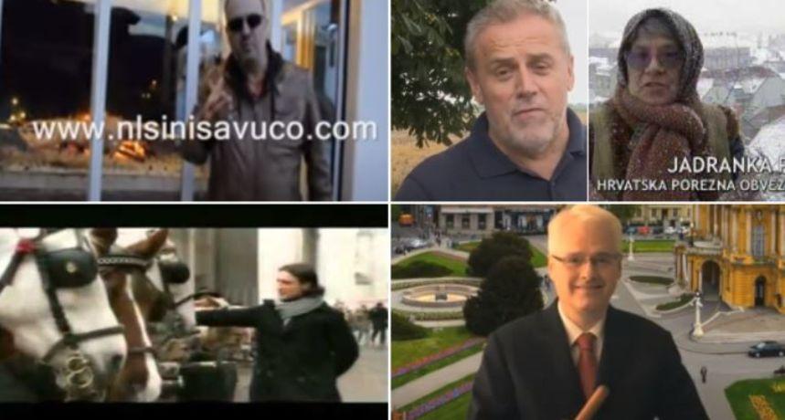 Vuco i janje, 'Ćaća, spasi nas', Bandić i Japanci: Sjećate li se ovih predizbornih spotova?