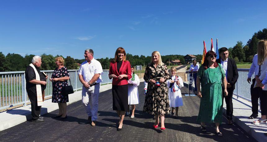 Općina Cetingrad slavi svoj dan, tom prigodom otvoren i novoizgrađeni most Ruševica - županica i predstavnici Vlade najavili niz novih lokalnih investicija