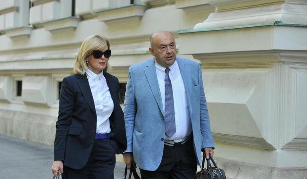 Čedo Prodanović i Jadranka Sloković