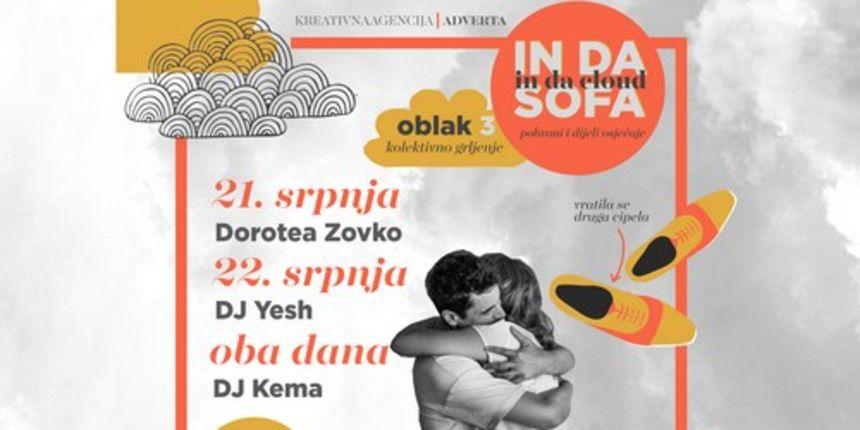 In Da Sofa: Premijerni nastup Doroteje Zovko na terasi Iktusa
