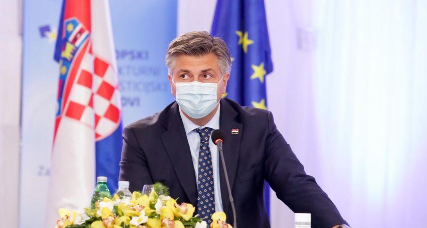Plenković: Cjepivo više nije upitno, do kraja lipnja imat ćemo najmanje 3,1 milijun doza