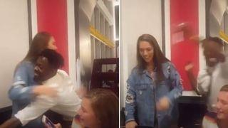 Teški 'neugodnjak': Slavljenica je mislila da ju konobar želi zagrliti, ali se prevarila pa je snimka postala viralna!