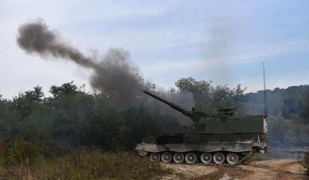 FOTO GALERIJA Završni prikaz vojne vježbe