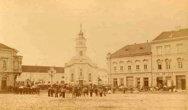trg ante starčevića 19. stoljeće