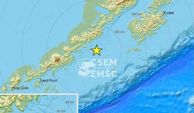 Aljaska, potres