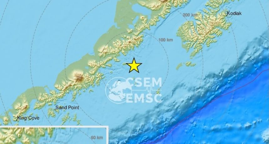 Snažan potres pogodio Aljasku