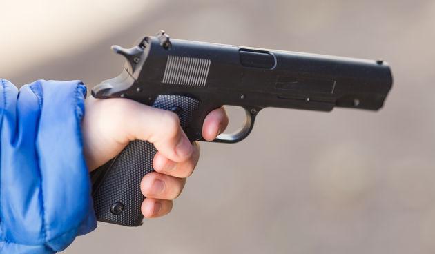 Dijete s pištoljem