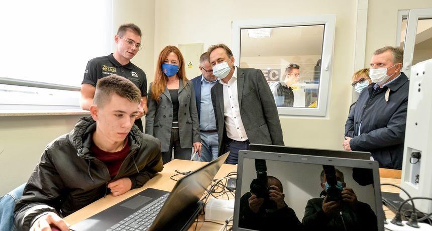 FOTO U Srednjoj školi Ludbreg otvoren Strukovni centar izvrsnosti iz strojarstva, prvi takav u Varaždinskoj županiji