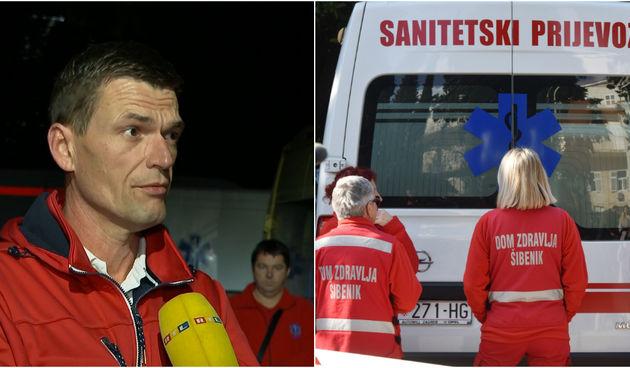 Božidar Jakelić, sanitetski prijevoz
