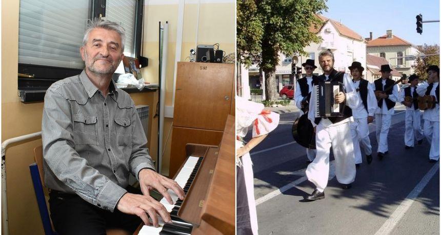 NASTAVNIK GLAZBENE KULTURE STJEPAN HORVAT Otišao s gitarom, vratio se s harmonikom