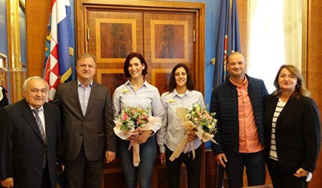 Gradonačelnik Dukić primio srebrne jedriličarke