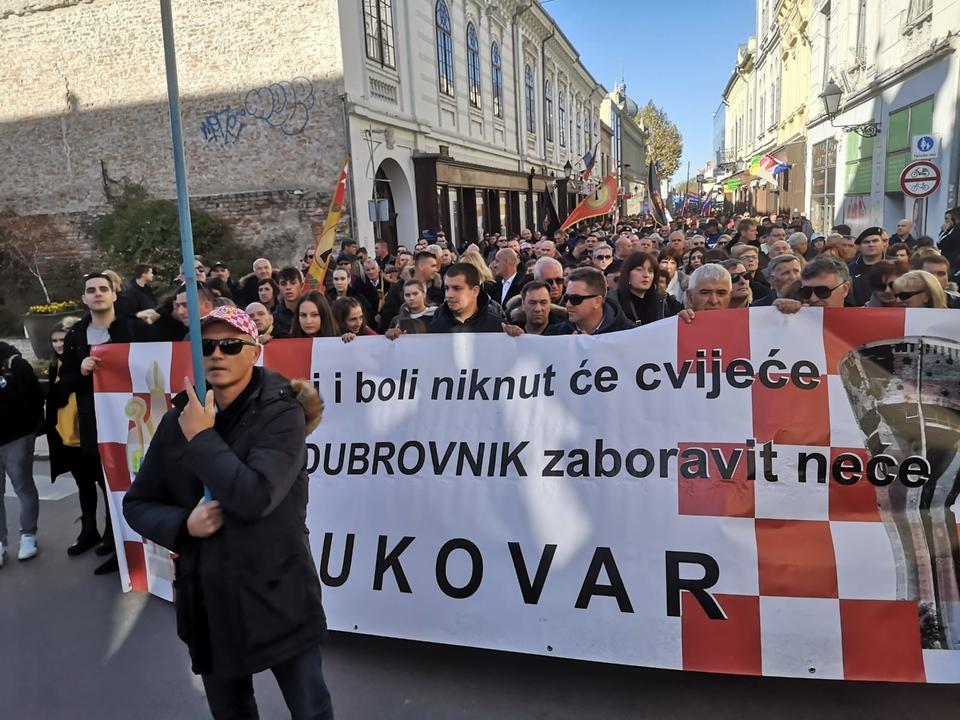 Kolona sjećanja u Vukovaru