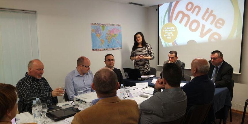 Svih 7 partnera projekta 'On the move' okupljeno u Prelogu na radionicma