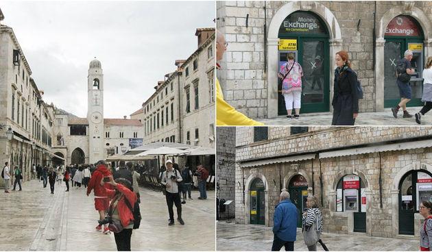 Dubrovnik, mjenjačnica, bankomati, kritika, građani