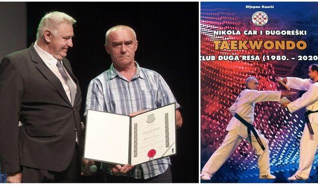 Povodom 40. obljetnice Taekwondo kluba Duga Resa izdana knjiga, gradonačelnik Boljar: Carevi borci s pravom su ponos grada