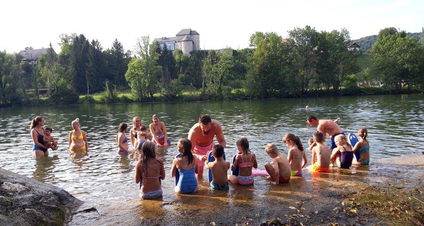 Besplatna škola plivanja danas u Generalskom Stolu, sutra u Netretiću - dobrodošli svi mališani!