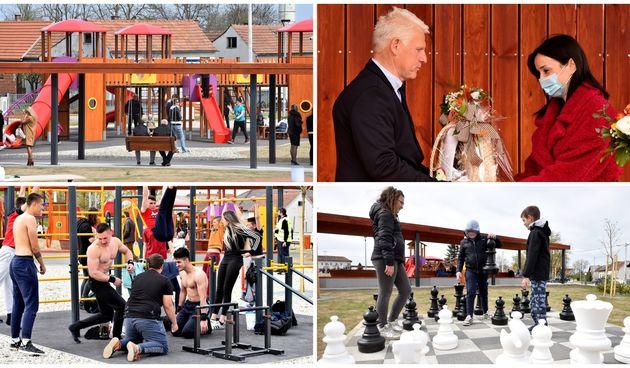 VRIJEDAN PROJEKT Sračinec dobio multinfunkcionalan park koji će znatno podići kvalitetu života mještana