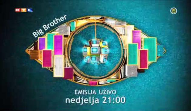 'Big Brother' emisija uživo, ne propustite u nedjelju, 8. travnja od 21 sat (thumbnail)