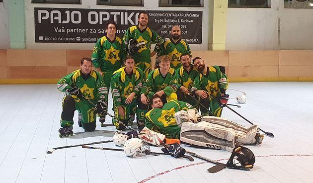 U prvim utakmicama prvenstva Hrvatske u inline hokeju dvije pobjede Karlovčana i poraz Karlovčanki