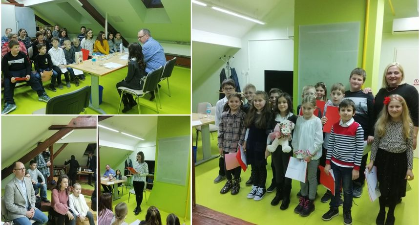 FOTO Na promociji zbornika 'Mozaik poezije i proze' najavljen novi izazov za djecu i roditelje