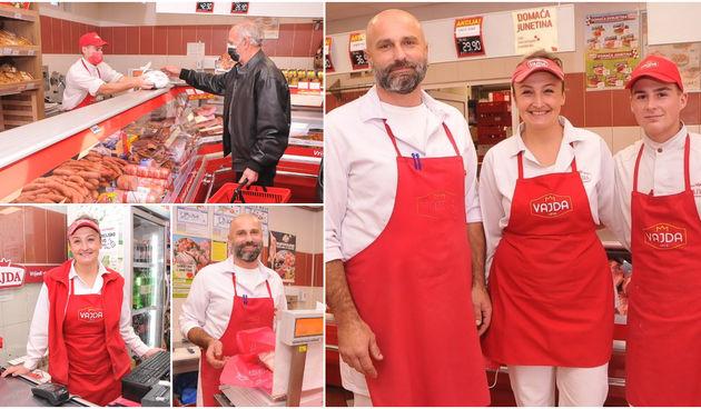 VAJDIN DISKONT U ZAGREBAČKOJ Ljubaznim prodavačima nasmijanih lica kupci se uvijek vraćaju