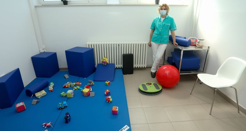 U Osijeku  otvorena nova ambulanta za fizikalnu medicinu i rehabilitaciju djece