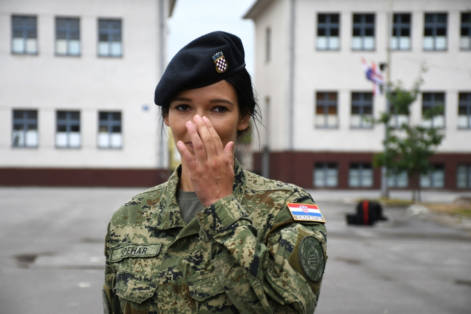 U Poljsku ispraćen 8. vojni kontigent: Od 80 pripadnika Hrvatske vojske, 6 je žena