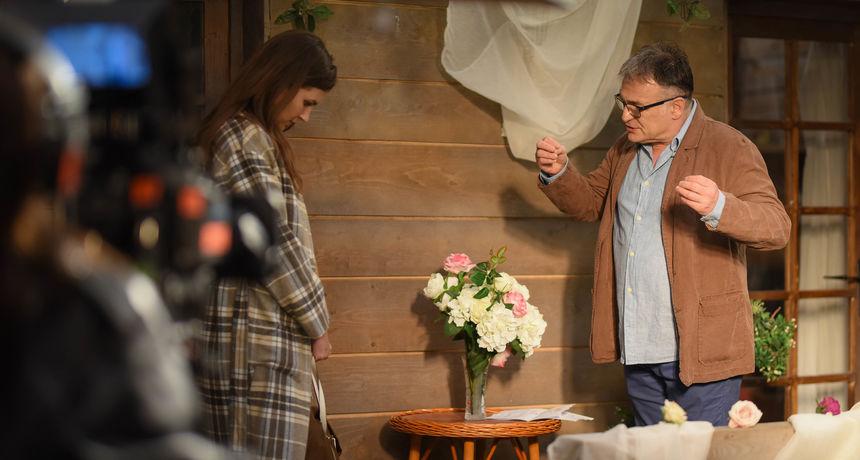 Na snimanju 'Pogrešnog čovjeka': Dok je kamera uključena, sve je drama, a kad je isključena, sve je komedija