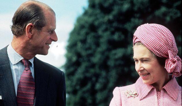 Princ Philip i kraljica Elizabeta II.