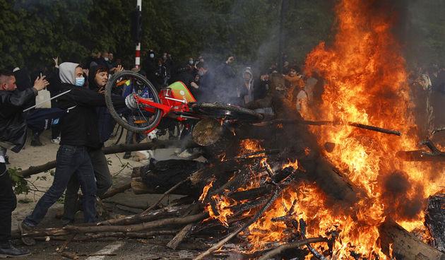 Belgija prosvjedi
