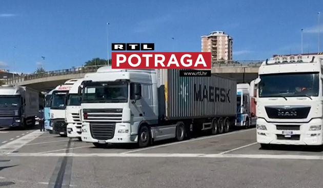 Potraga, kamioni