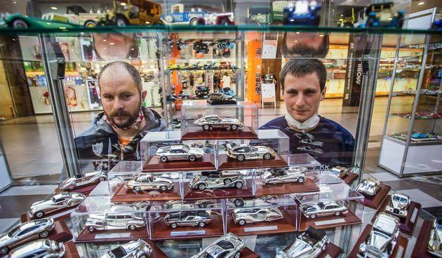 Izložba kolekcionarskih autića u Portanovi