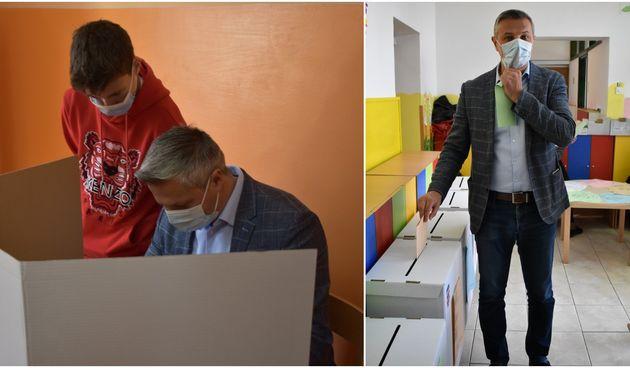 OBAVIO GRAĐANSKU DUŽNOST Na lokalnim izborima glasao i Stjepan Kovač