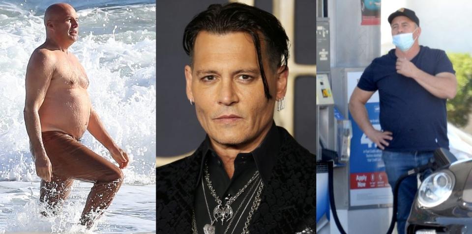 Billy Zane, Johnny Depp i Matt Leblanc