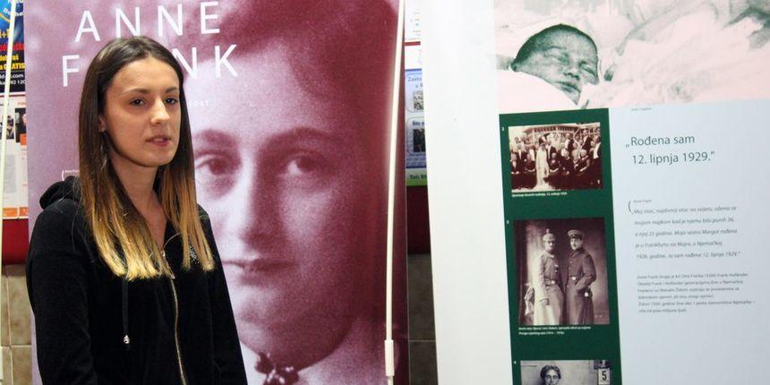 Otvorena izložba o Anne Frank: Treba učiti na greškama iz prošlosti