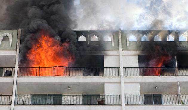 požar u stanu
