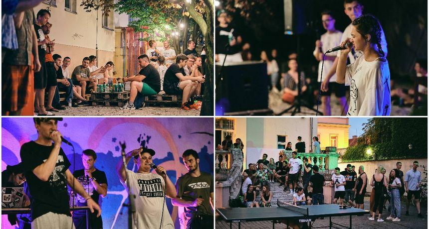 FOTO Reperi oduševili mnogobrojnu publiku u P4: Nastupili Gossip crew, Jurek, Giogio...