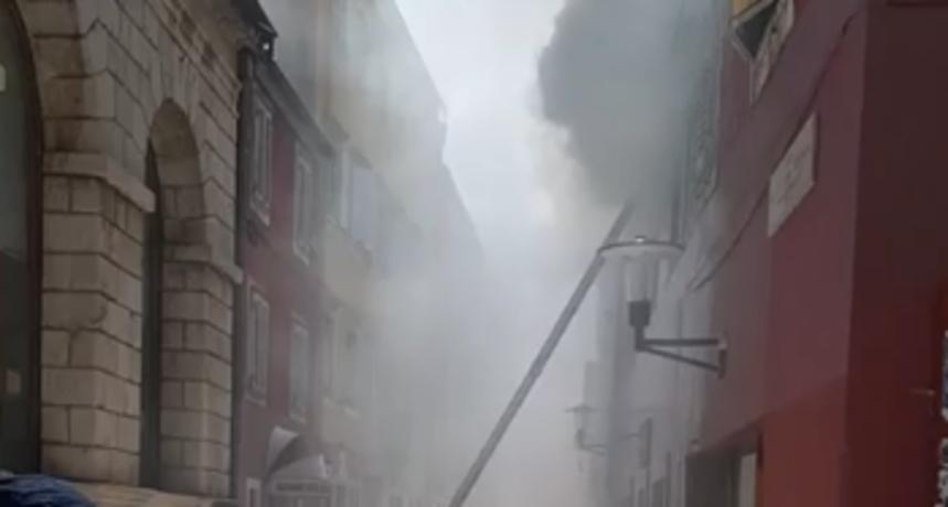 Požar na Narodnom trgu