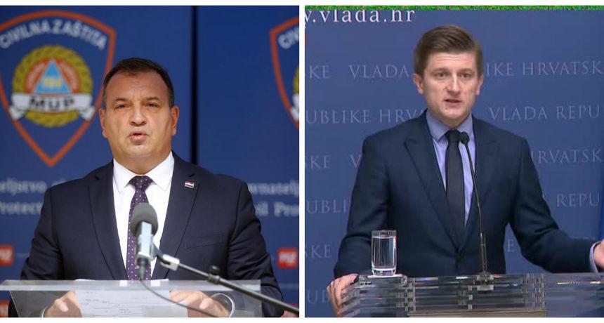 Beroš: 'Policijski sat je zadnje što ćemo poduzeti ako bude trebalo'; Marić: 'Nisu veledrogerije jedini problem u zdravstvenom sustavu'
