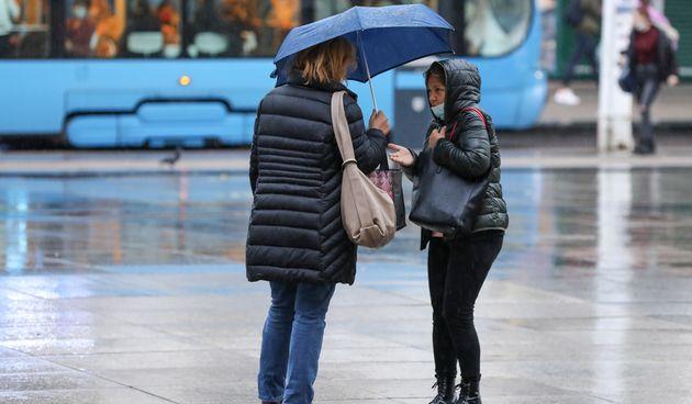Zagreb kiša