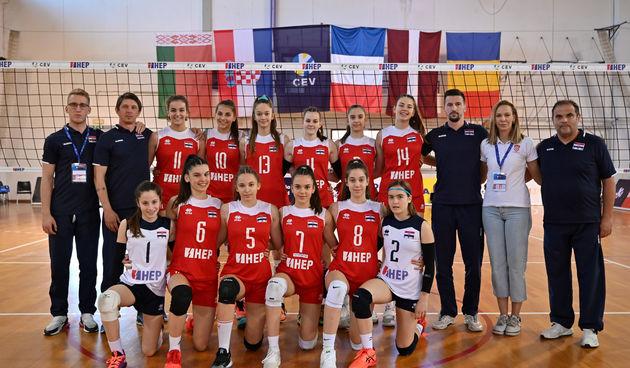 Hrvatska ženska kadetska reprezentacija pobijedila Rumunjsku i plasirala se na EP