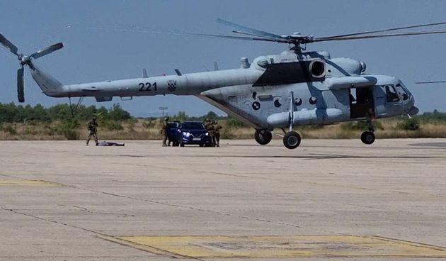 Zemunik, HV, NATO, vojna vježba