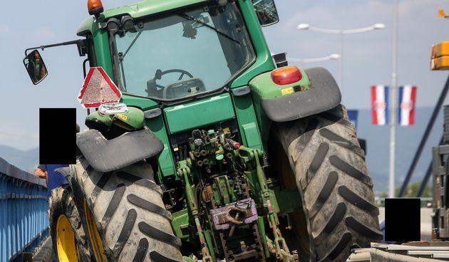 Traktor, ilustracija